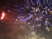 Fireworks in the Severn Vale