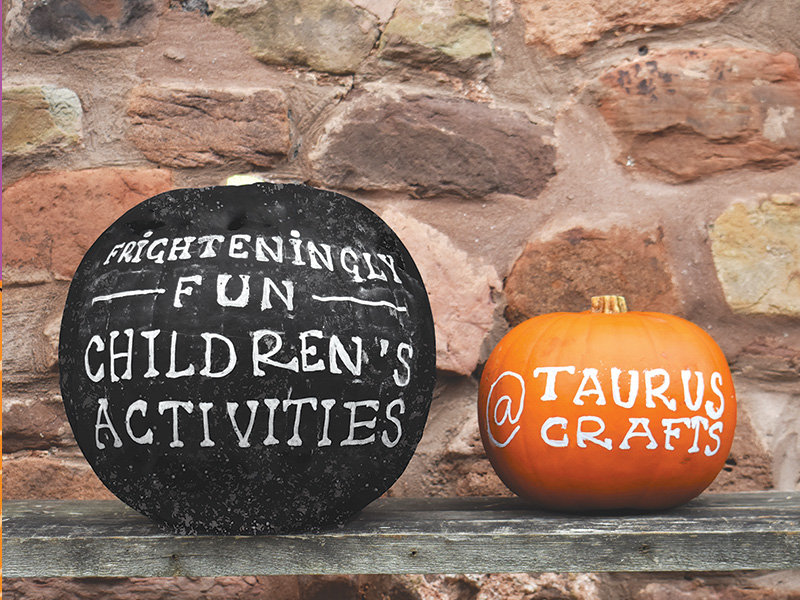 Halloween activities during October half term