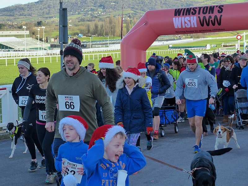 Winstons Wish charity events