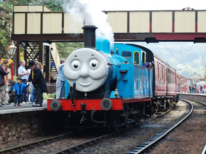 Thomas the Tank Engine at Gloucestershire Warwickshire Railway