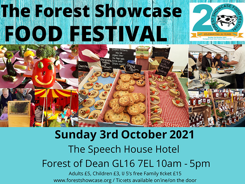 Food and drink at Forest of Dean Showcase