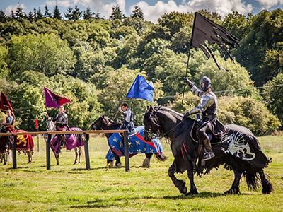 Jousting events at Sudeley Castle