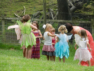 Fairies and wizards in Gloucestershire