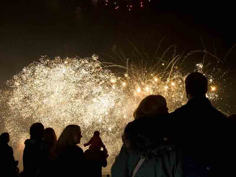 Bonfire and firework displays in Gloucestershire