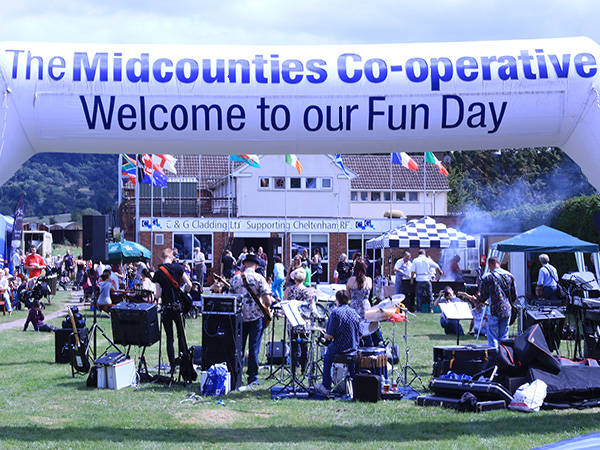 The Midcounties Co-operative Fun Day, Bishops Cleeve
