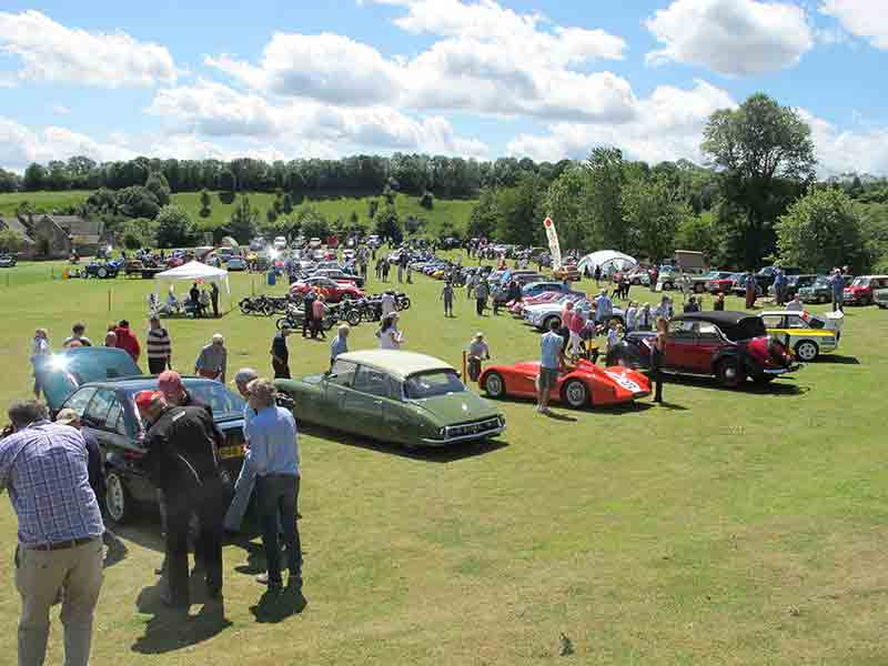 Naunton Classic and Vintage Transport Show & Fete