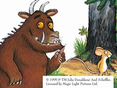The Gruffalo at the Dean Heritage Centre, Forest of Dean