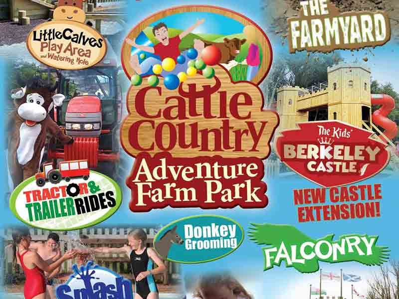 Half term  at Cattle Country in Gloucestershire