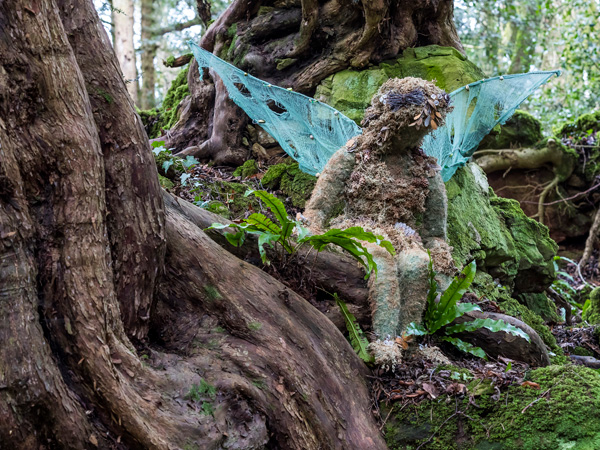 Year of Literary Heroes & Year of Legends at Puzzlewood