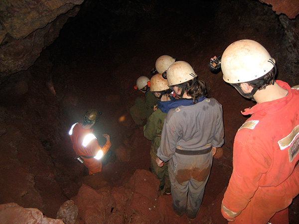 School holiday Caving Activities at Clearwell Caves
