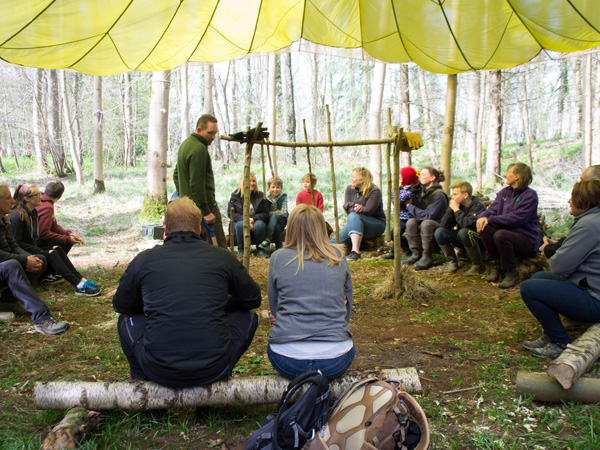 Bushcraft Courses at Adam Henson's Cotswold Farm Park in the Cotswolds