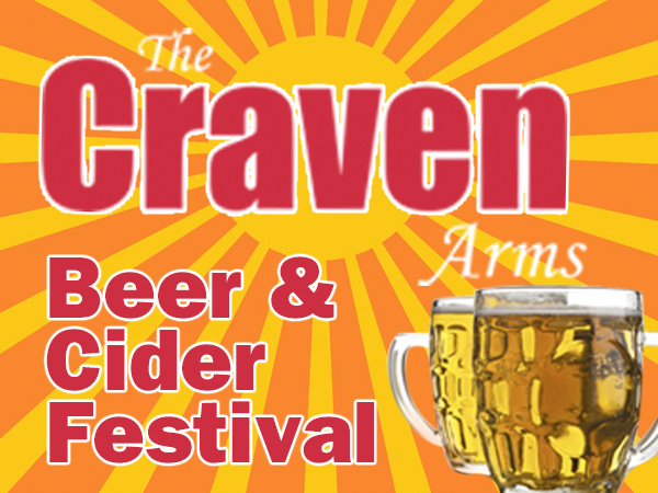 Events at The Craven Arms