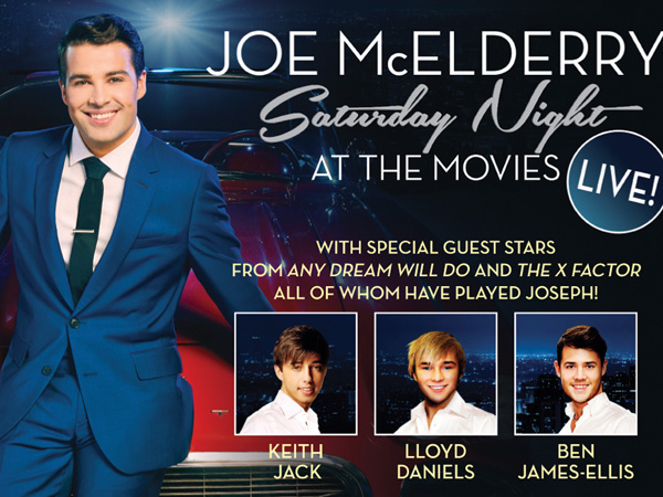 Joe McElderry: Saturday Night at the Movies at the Everyman Theatre