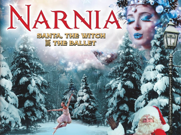 Narnia Christmas event in Cheltenham