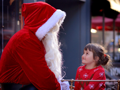 Where's Santa in Cheltenham, Gloucestershire