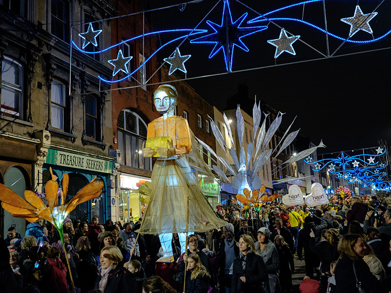 Gloucester Christmas lights switch-on