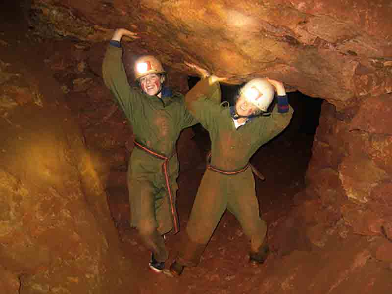 Caving in the Forest of Dean