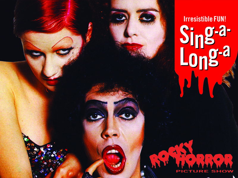 Sing-a-long-a Rocky Horror Picture Show at the Everyman Theatre