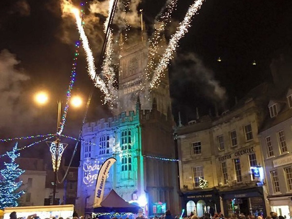 Cirencester Christmas Lights 2018