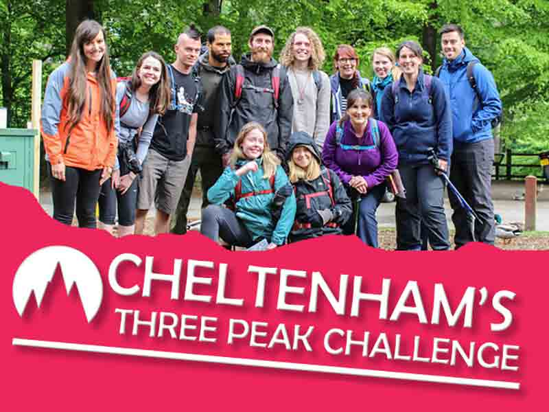 Cheltenham's Three Peak Challenge