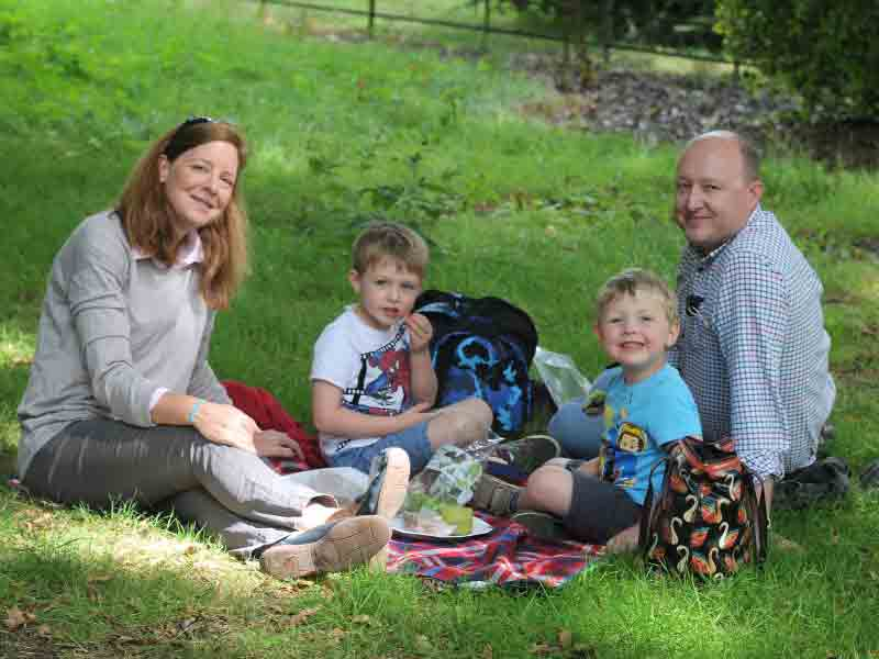 Father's Day  at Batsford Arboretum
