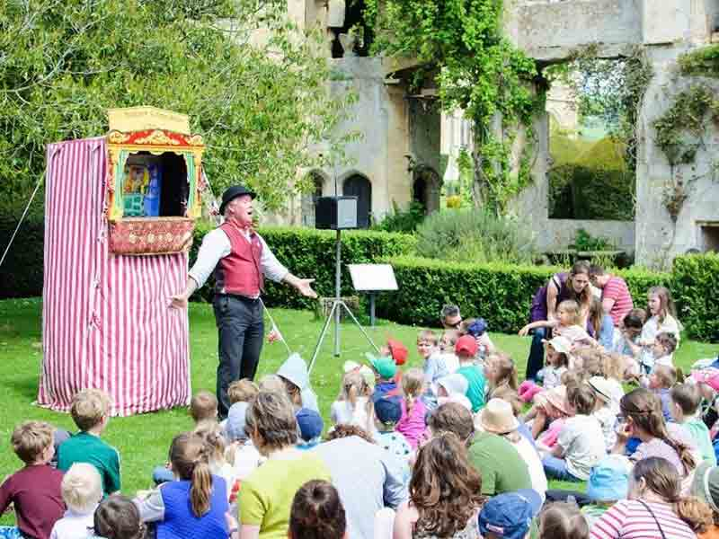School holiday events at Sudeley Castle