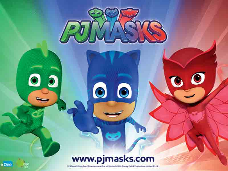 PJ Masks: Owlette & Catboy at Dean Forest Railway in Gloucestershire