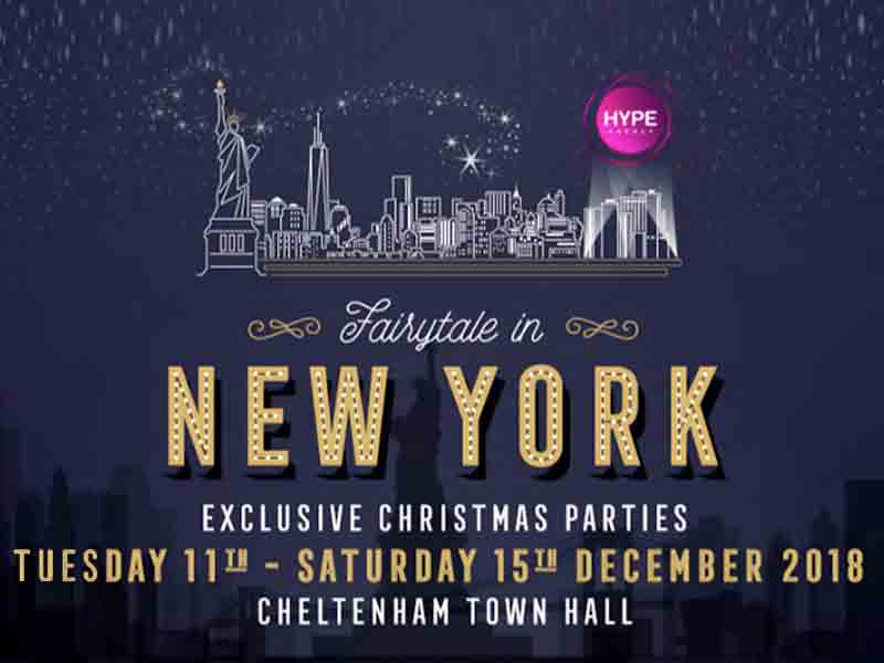 Fairytale in New York Christmas event in Cheltenham