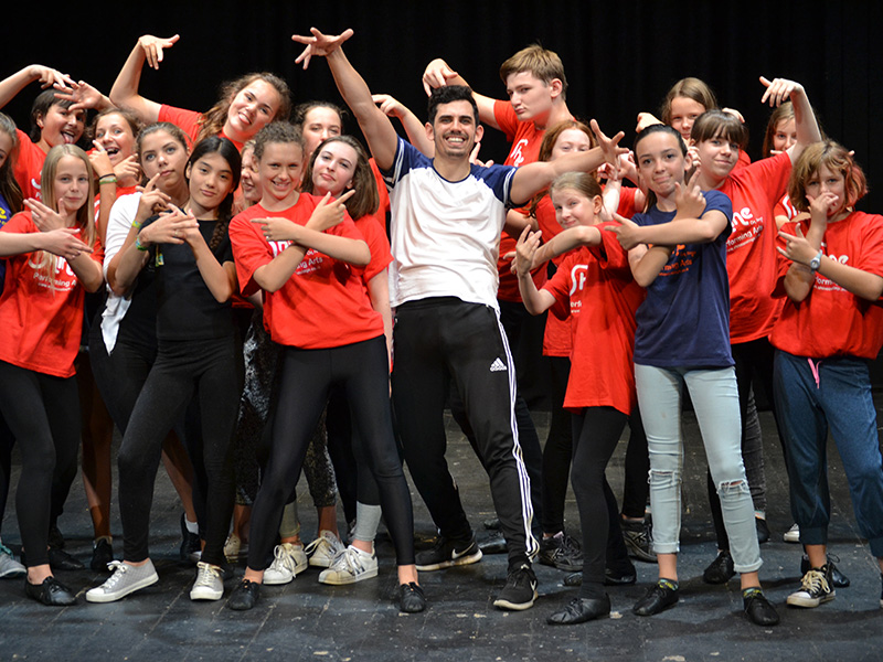 Stroud Performing Arts Summer Schools 2018