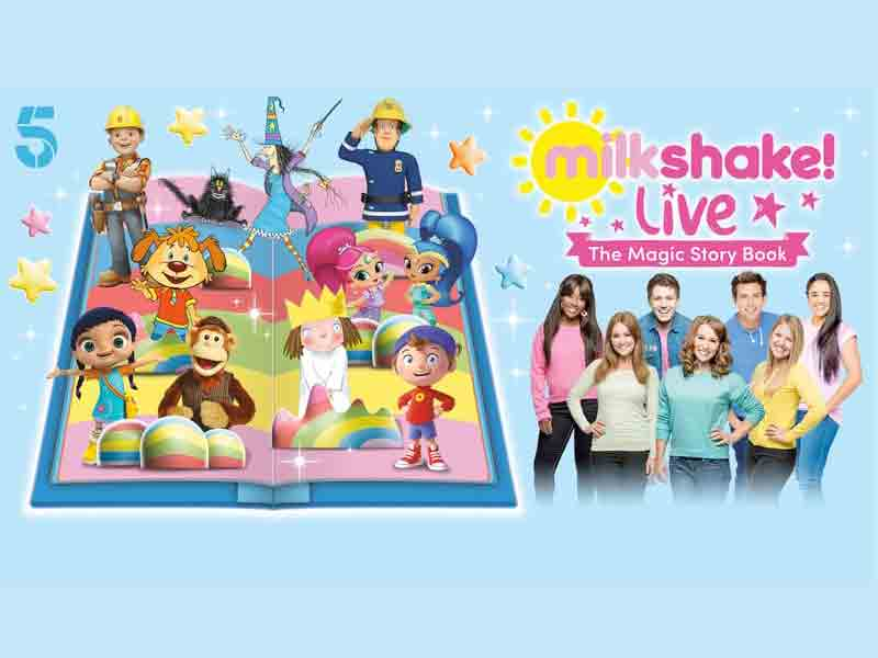Milkshake! Live at Cheltenham Town Hall