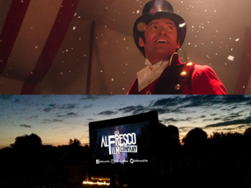 Outdoor Cinema at ICBP  Newent