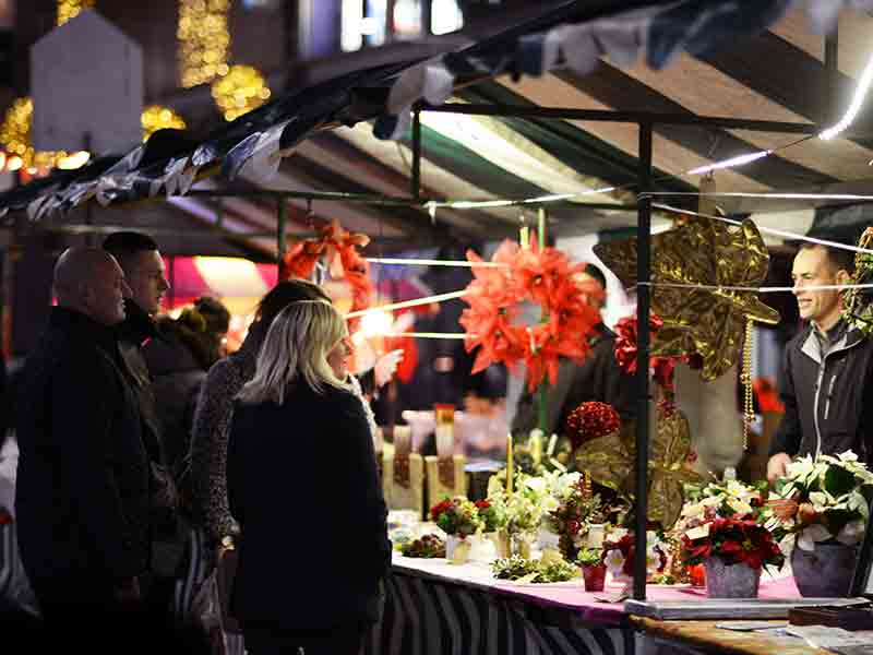 Christmas Markets in Gloucestershire