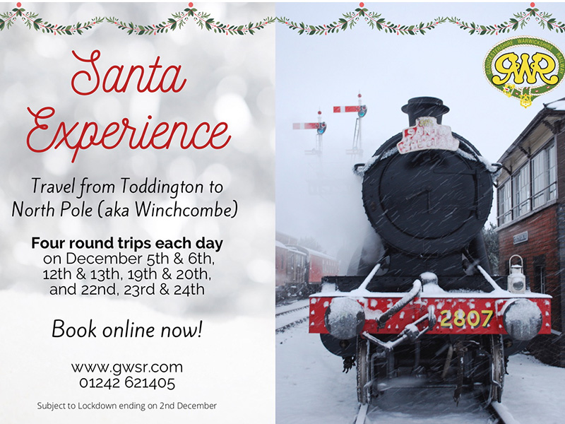 Santa specials on the GWR