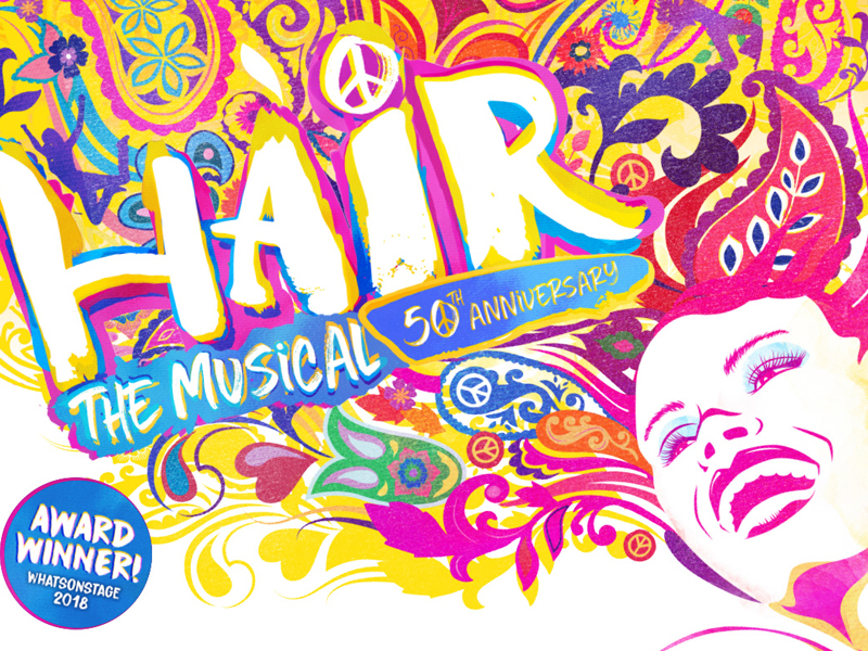 Hair the Musical at the Everyman Theatre