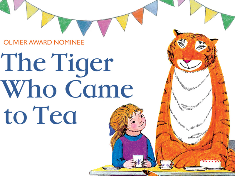 The Tiger Who Came to Tea at the Everyman Theatre