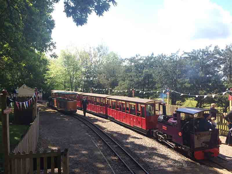 Events at Perrygrove Railwayin the Forest of Dean