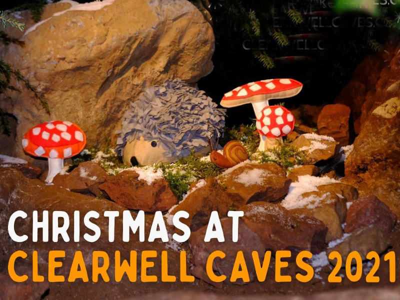 Christmas at Clearwell Caves
