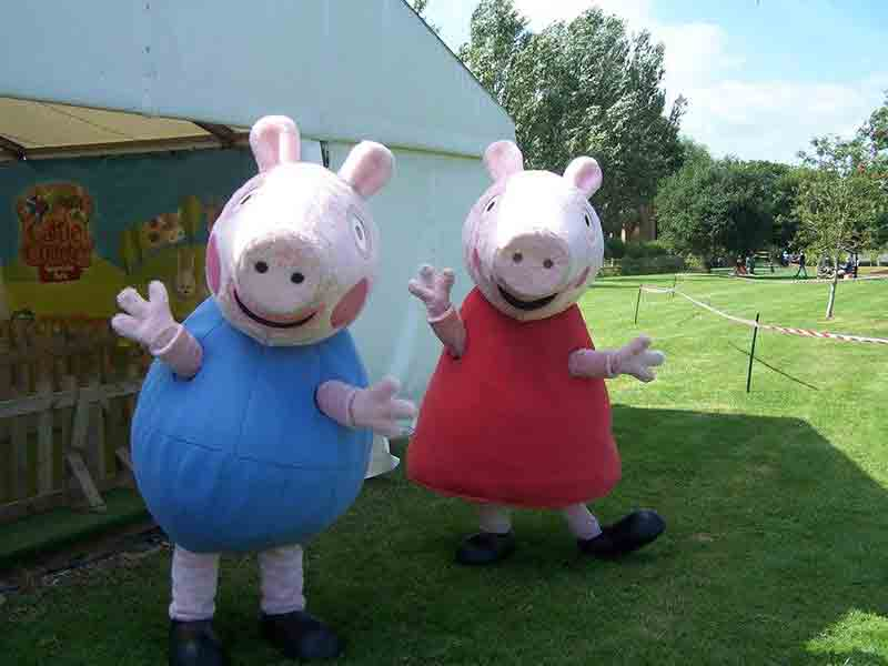 Peppa Pig at Cattle Country in Gloucestershire