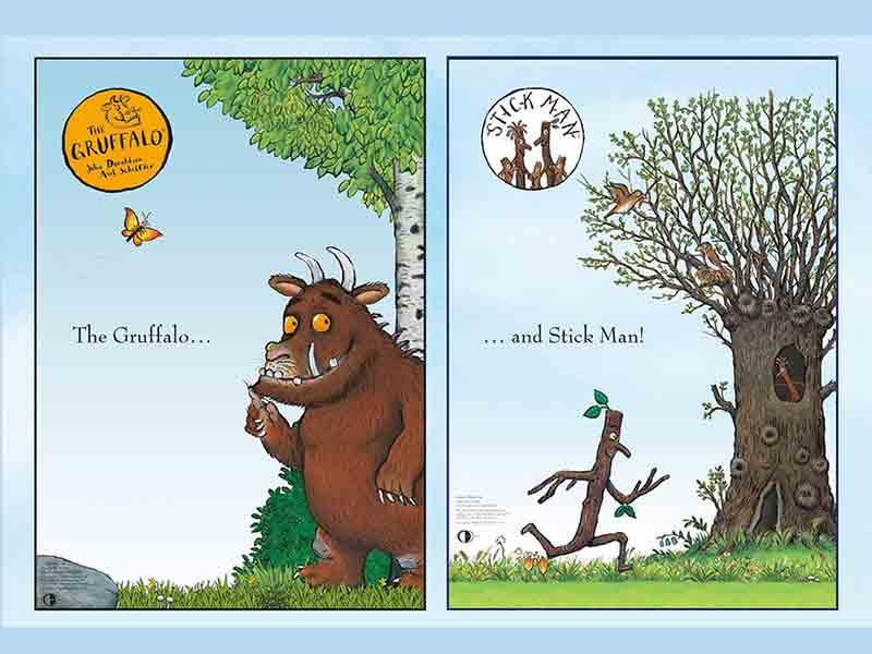 Gruffalo & Stickman Weekend at Cattle Country