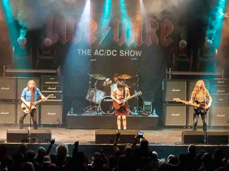 What's on at Gloucester Guildhall - Livewire: The AC/DC Show