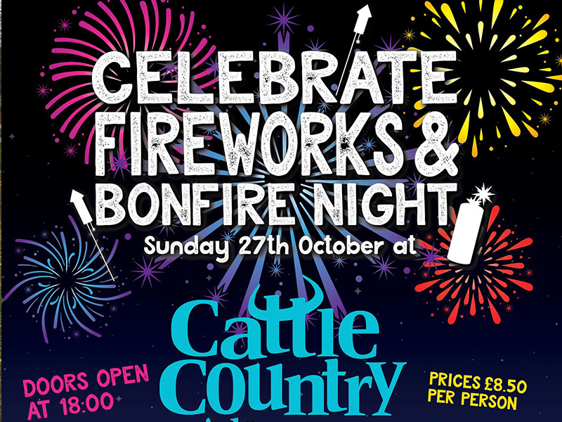 Firework Display at Cattle Country