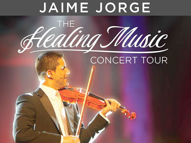 Jaime Jorge Healing Music Concert Tour UK