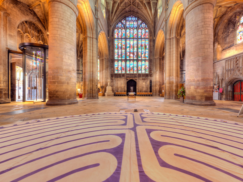 'Museum of the Moon' at Gloucester Cathedral