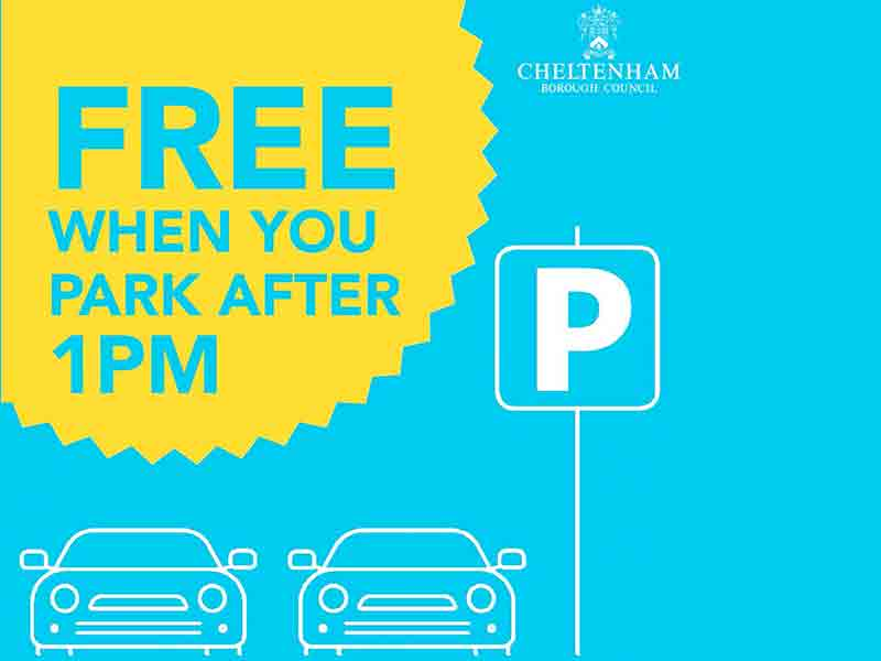 Free Christmas parking in Cheltenham