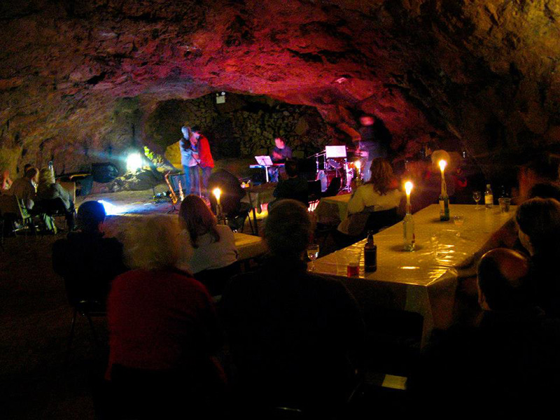 Live Music at Clearwell Caves