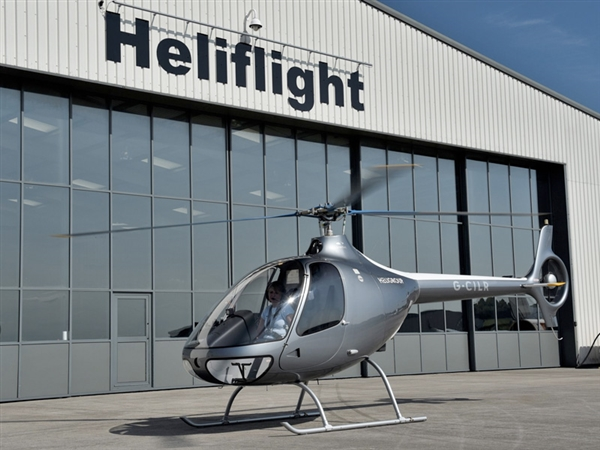 Heliflight operates from Gloucestershire Airport, Staverton