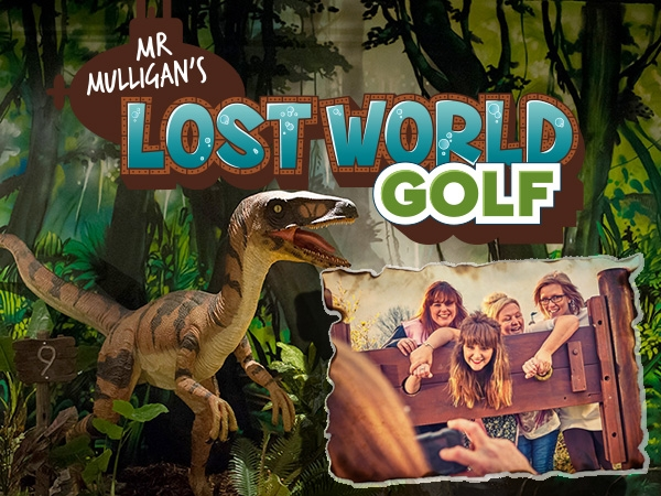 Stag & Hen Parties at Mr. Mulligan's Lost World Golf - Cheltenham