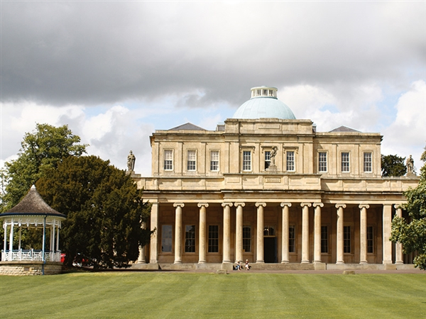 The magnificent Pittville Pump Room