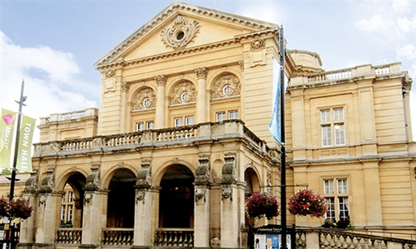 The famous Cheltenham Town Hall