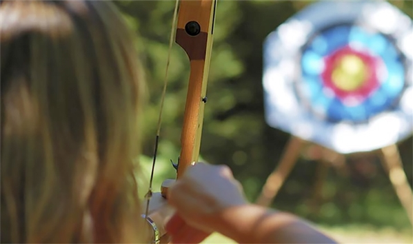 Forest of Dean Adventure Archery located at Bracelands